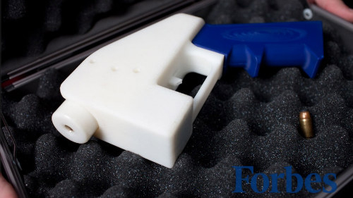 چاپ سهبعدی تفنگ