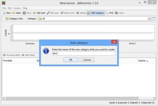 نرمافزار jMemorize
