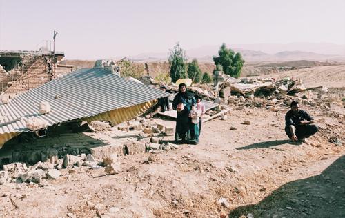 زلزله کرمانشاه و باز هم تجربه نزدیک شدن تا چند قدمی مرگ